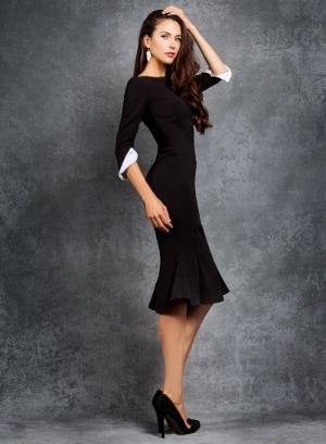 blanc blog jasmine wang black w wh cuff dress.jpg