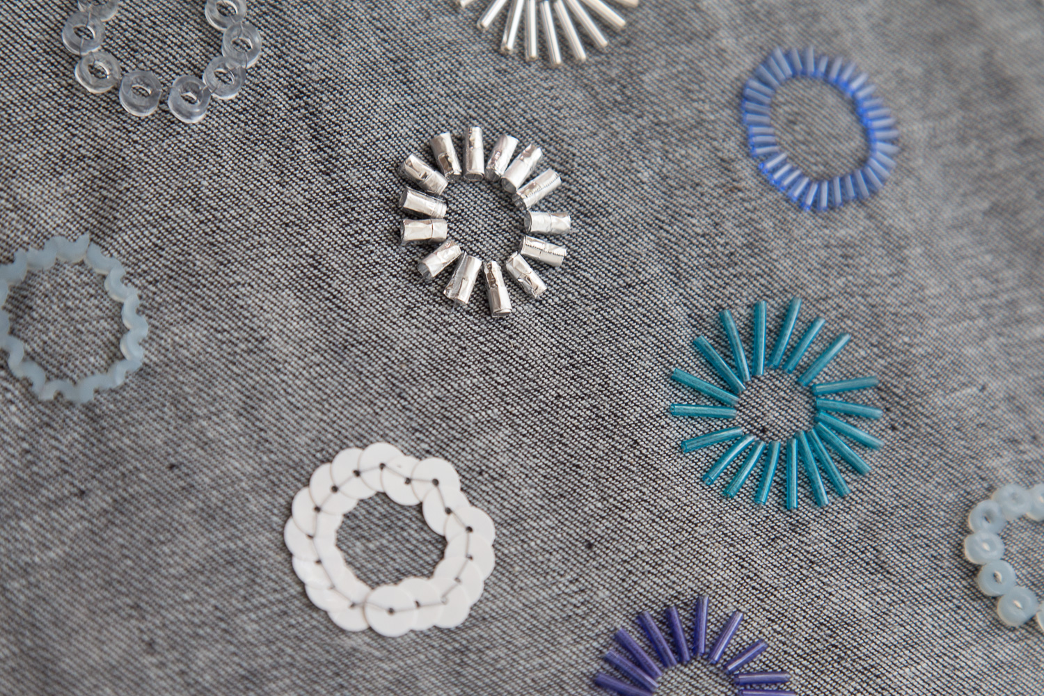 SURFACE EMBELLISHMENT SERIES- RELIEF BEADING