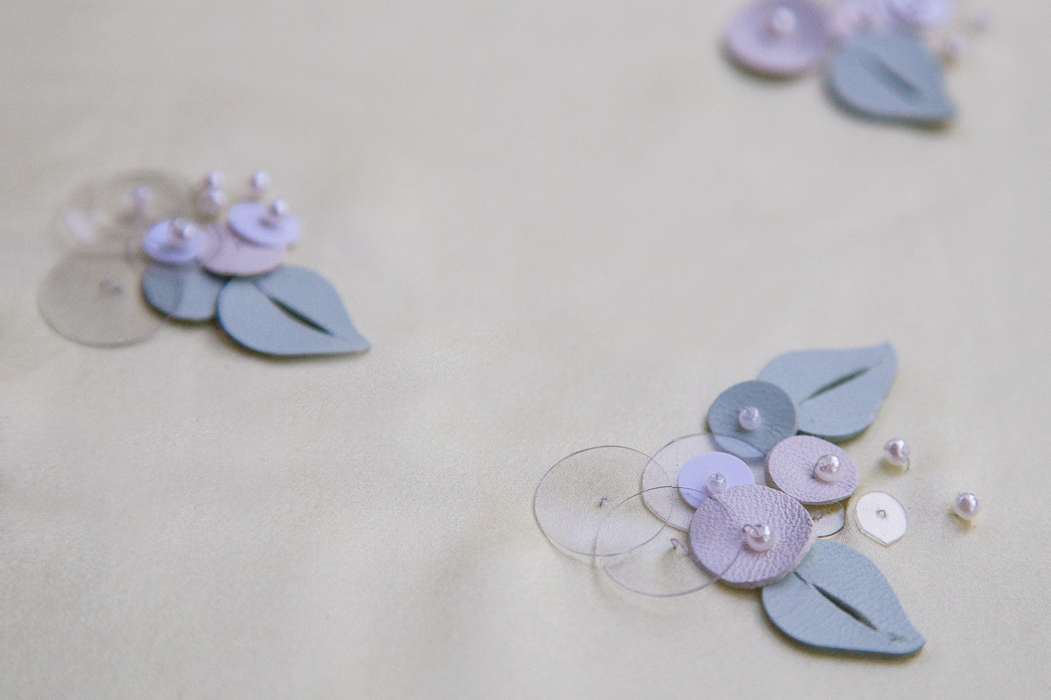 SURFACE EMBELLISHMENT SERIES- CUSTOM MAKE SEQUINS