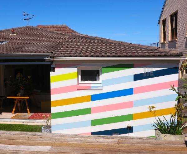 Shackel Avenue House / Exterior Wall / 2.4 m (h) x 3.5m (w)