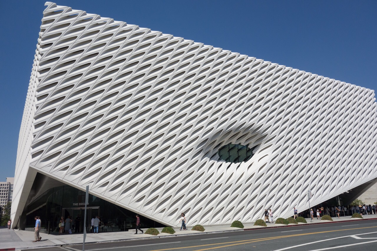 The  Broad Museum   - Downtown Los Angeles