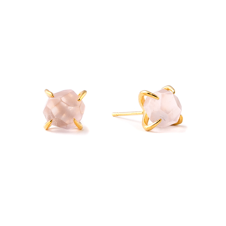 Aliya Rose Quartz Earrings