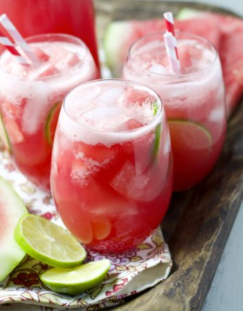 Watermelon Margaritas - Yummy!