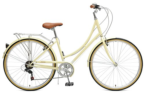 The Beaumont 7-Speed Step-Thru City Bike designed by Critical Cycles.