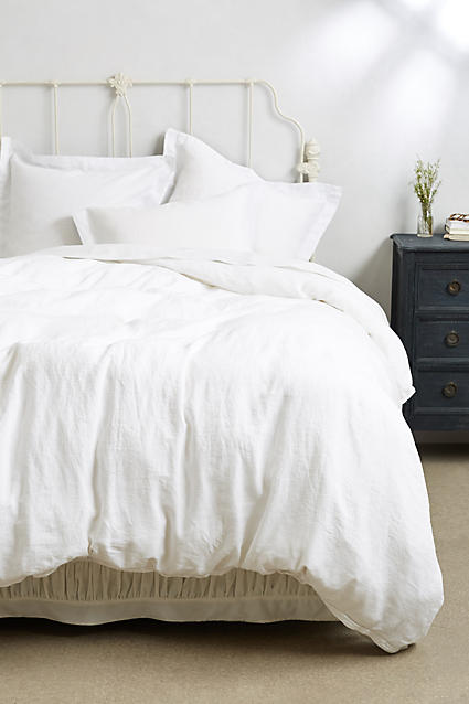 Soft-Washed Linen Duvet  from  Anthropologie