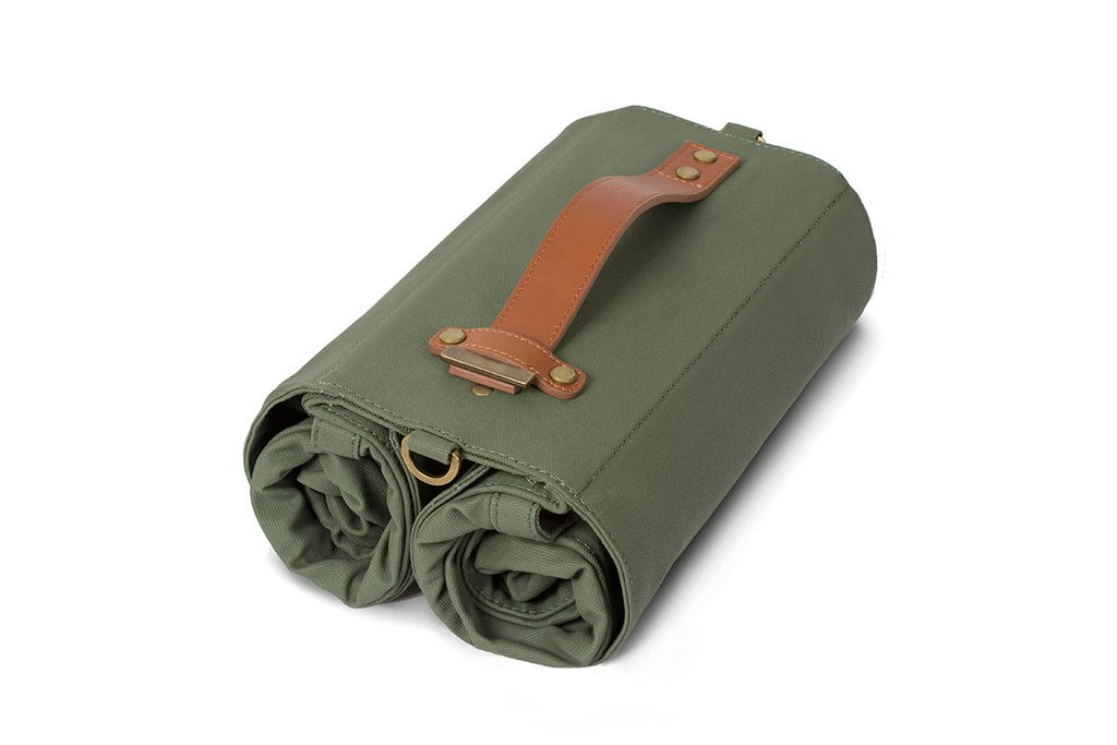 The Market Bag by Linus in Army Green