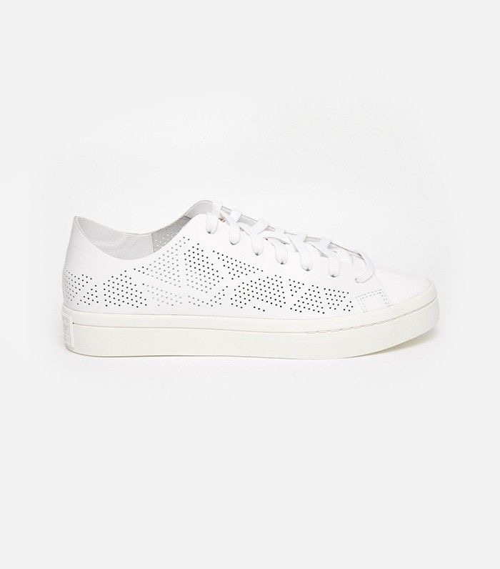 Adidas Originals Court Vantage Perforated Sneakers  from  Asos