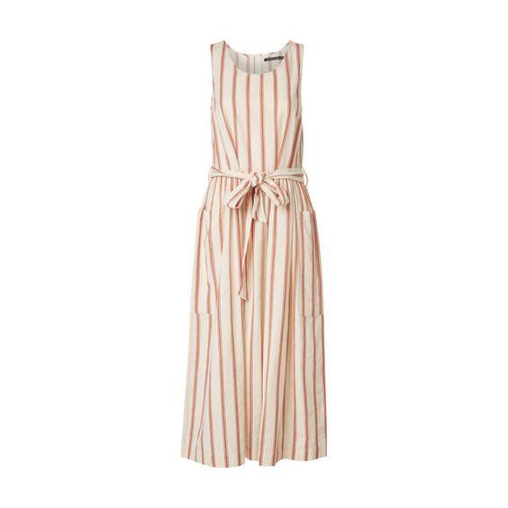 Striped Cotton Dress, Monoprix