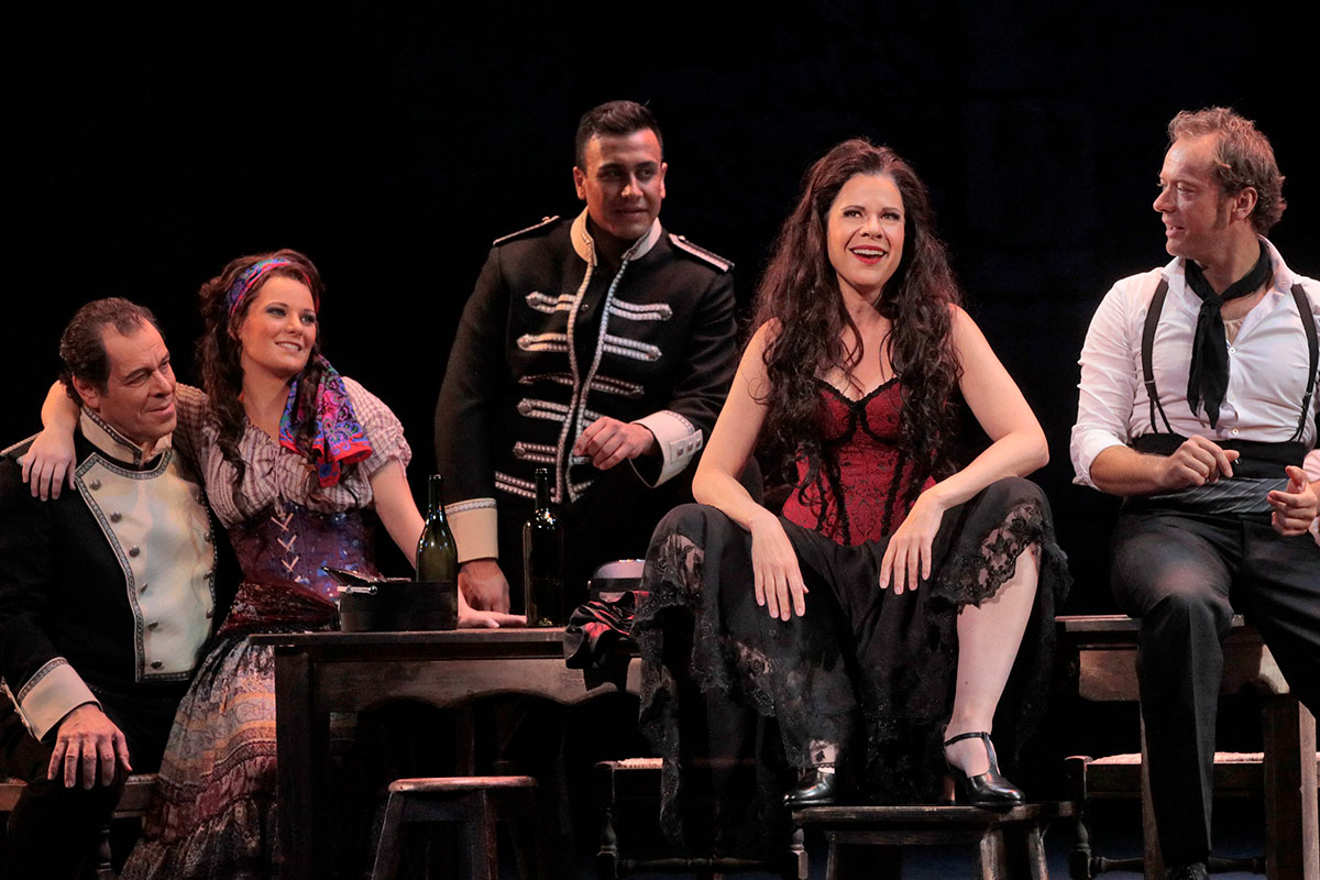 Ana Maria Martinez  as Carmen. Photo by Ken Howard / LA Opera