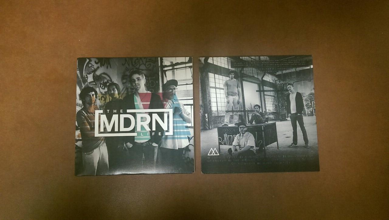 The Modern Life Album Design