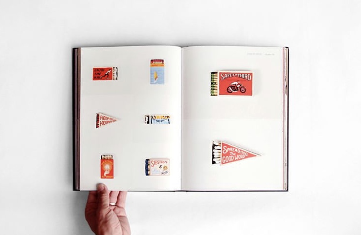 Matchbook Art & Lettering by Joe Swec