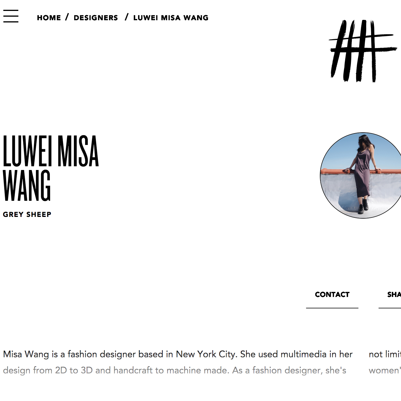 NOT JUST A LABEL   NJAL full collection featured designer.   https://www.notjustalabel.com/designer/luwei-misa-wang