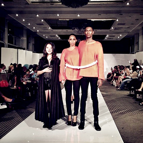 PLITZS New York Fashion Week 2013   Presented as student designer in Hotel Pennsylvania.
