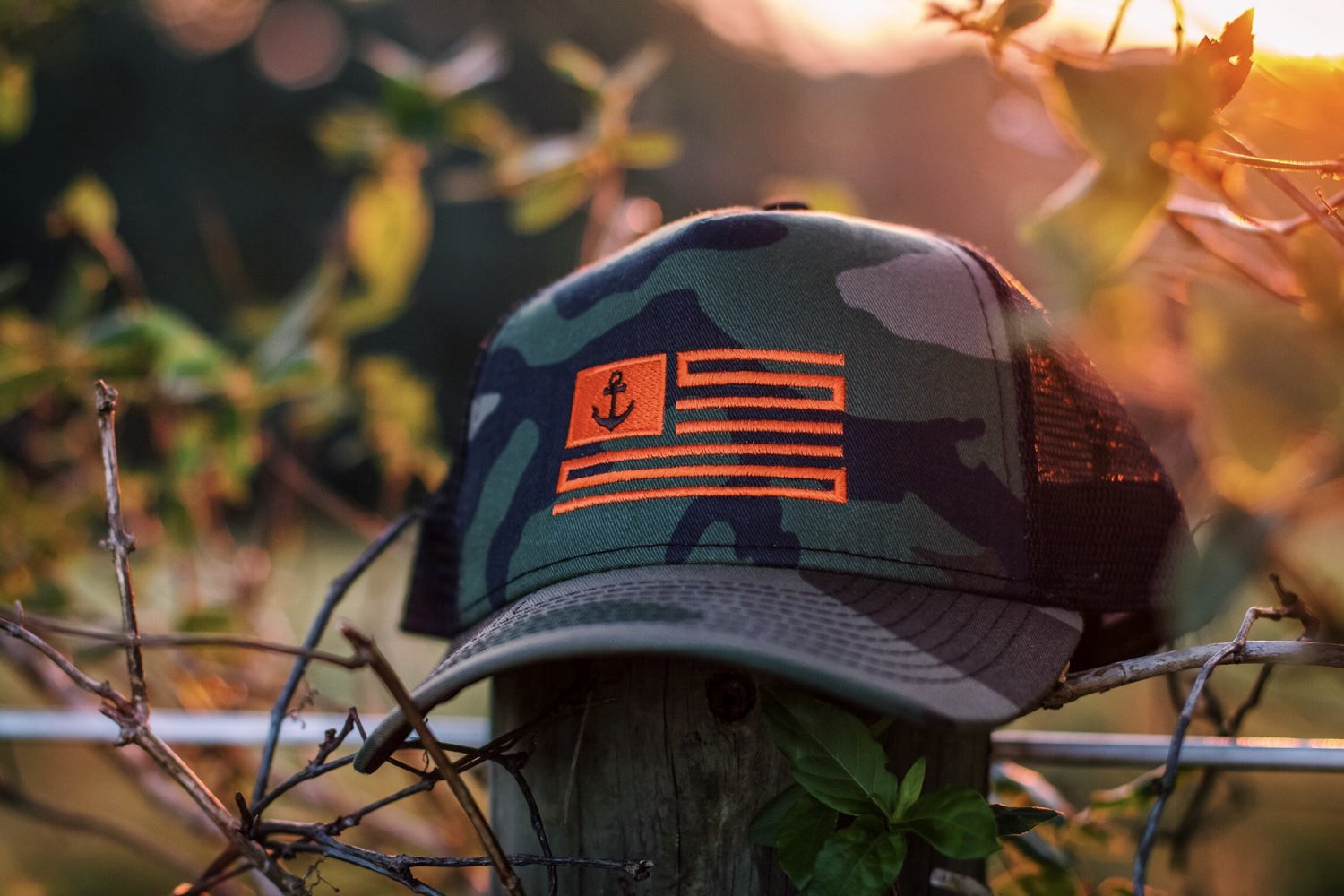 Outdoorsman - Camo Trucker Hat