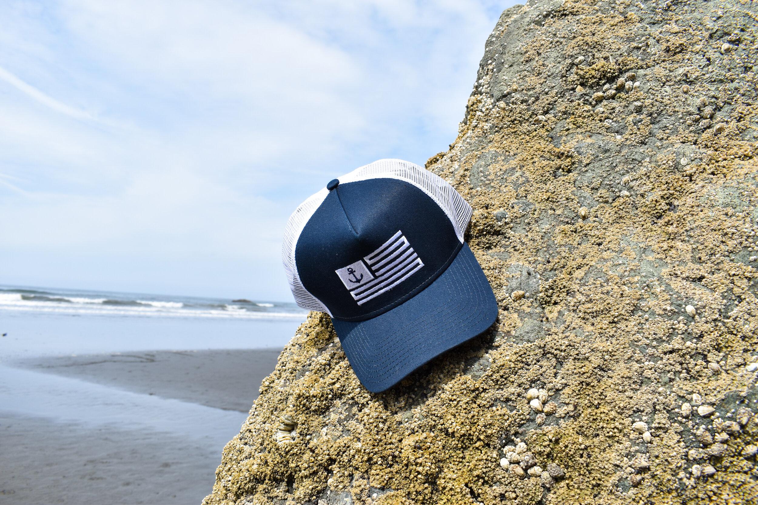 Sailor - Navy / White Trucker Hat