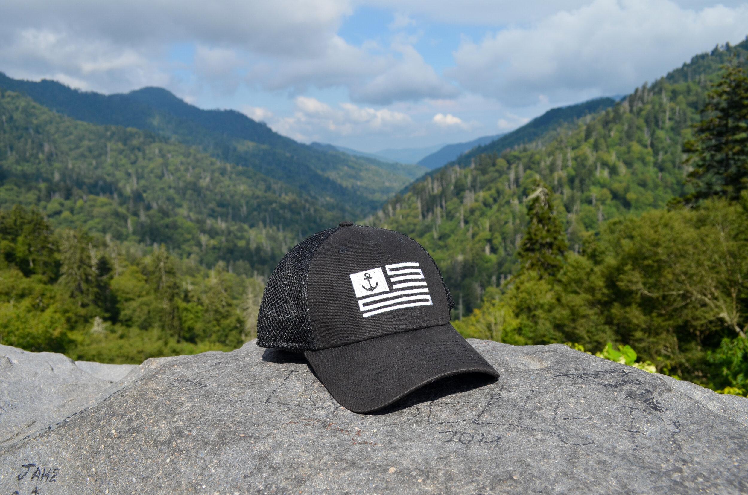 The Original - Black Mesh Hat