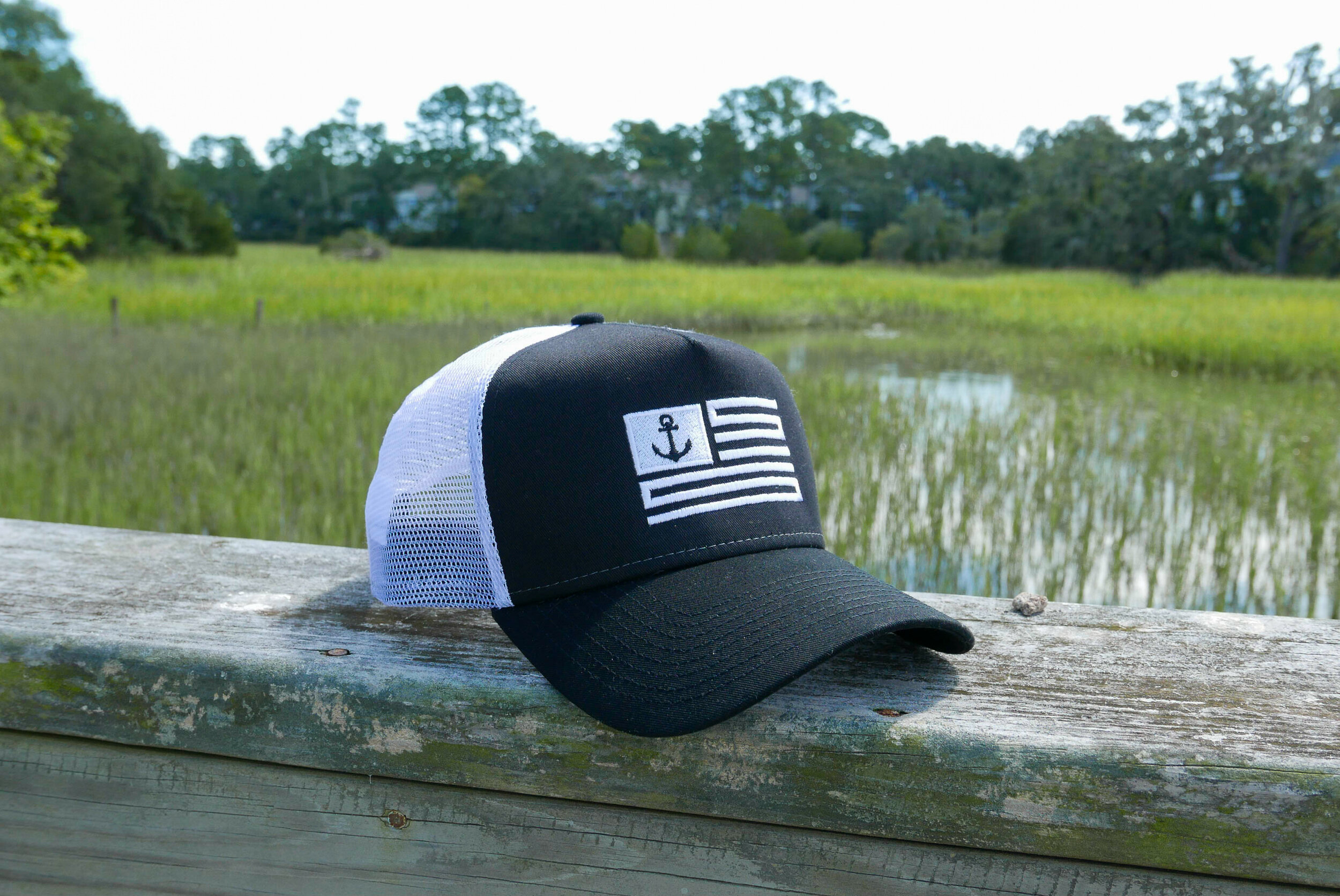 The Classic - Black / White Trucker Hat