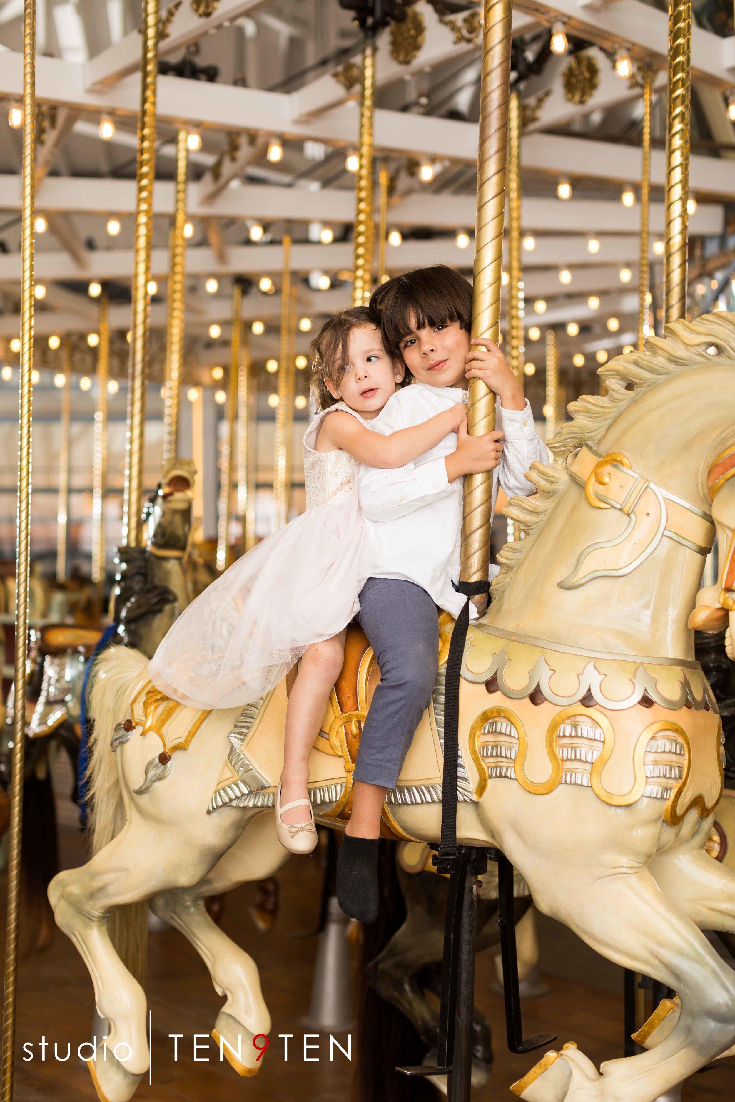 new haven carousel wedding