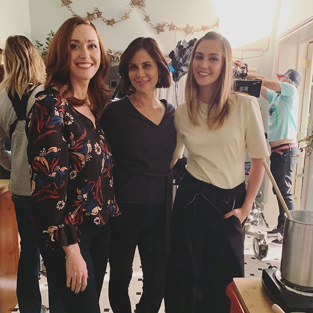Can't believe it's already been one month of working with these wonderful people! 🥰Thank you to the whole #GoodWitch family for making me feel so welcome! @therealcatherinebell @sarahspower @hallmarkchannel #Goodies ✨
