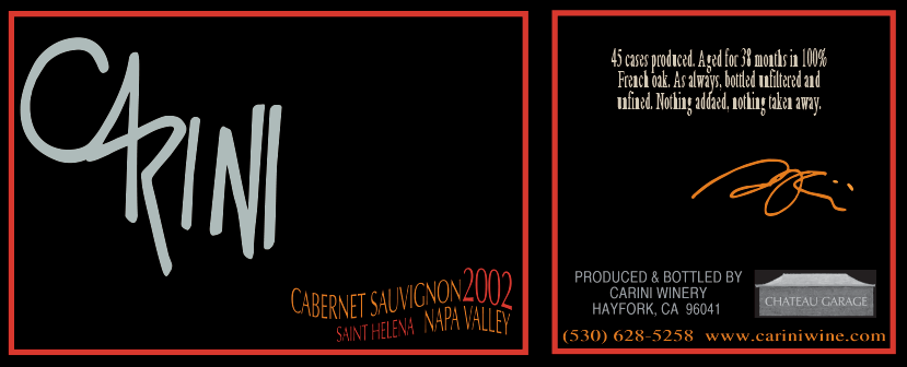 2002 CABERNET SAUVIGNON - ST. HELENA - NAPA VALLEY