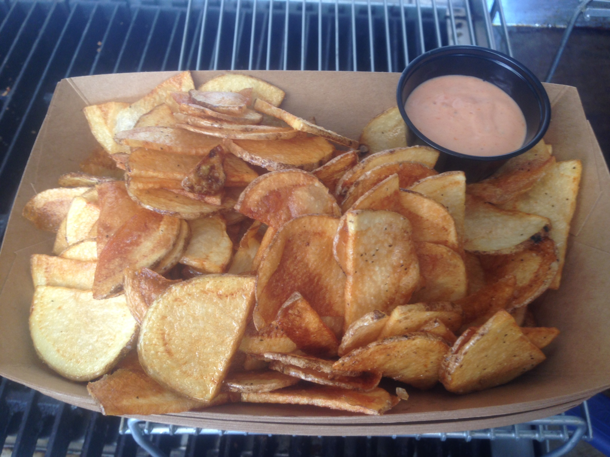 Truck-Fried Potatoes & KM Sauce