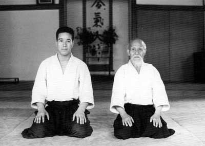 O Sensei mit Shimizu Sensei