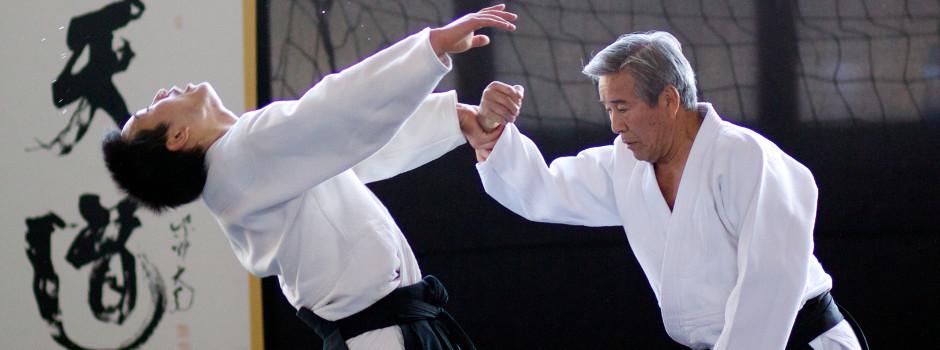 Shimizu Sense mit seinem Sohn Kenta Shimizu