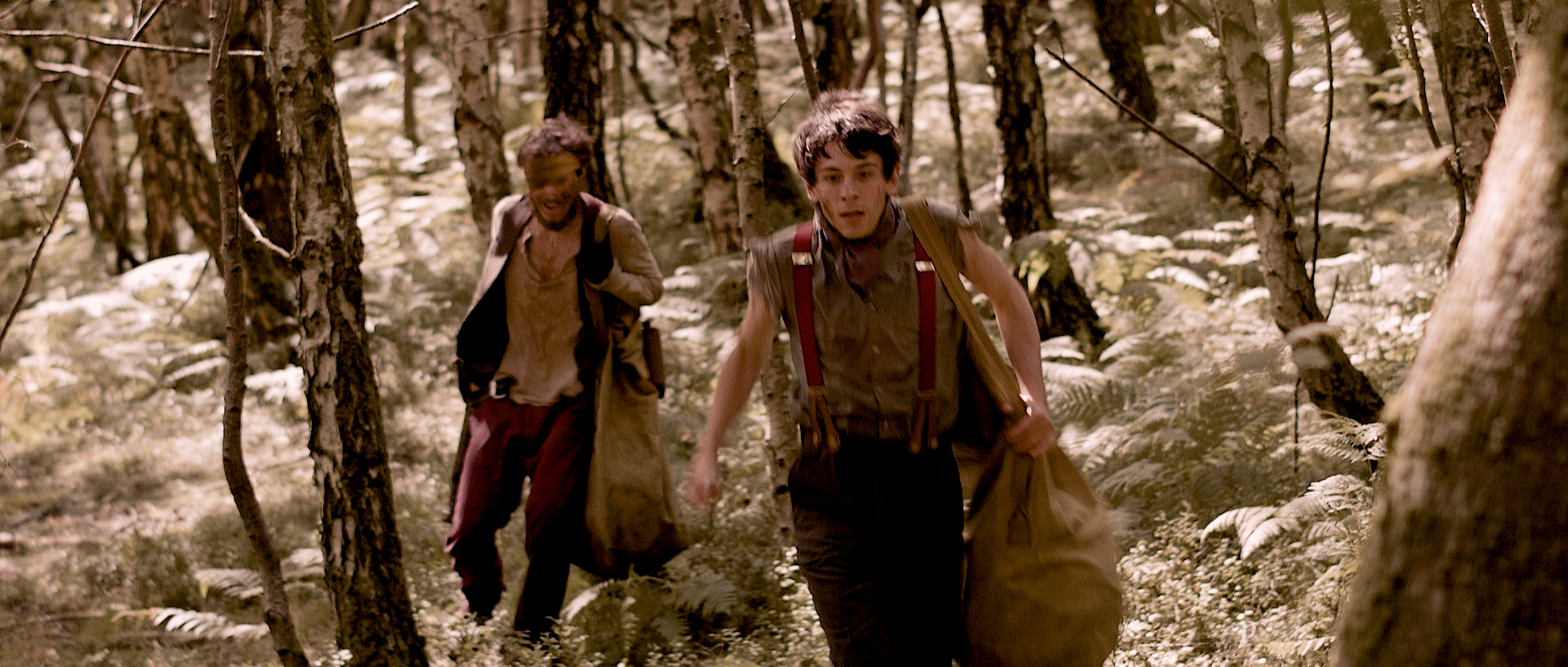 DSR - 'Nugget' and 'Clay' (Jerome Thompson and Joe Newton) run through the twisted forest-42.jpg