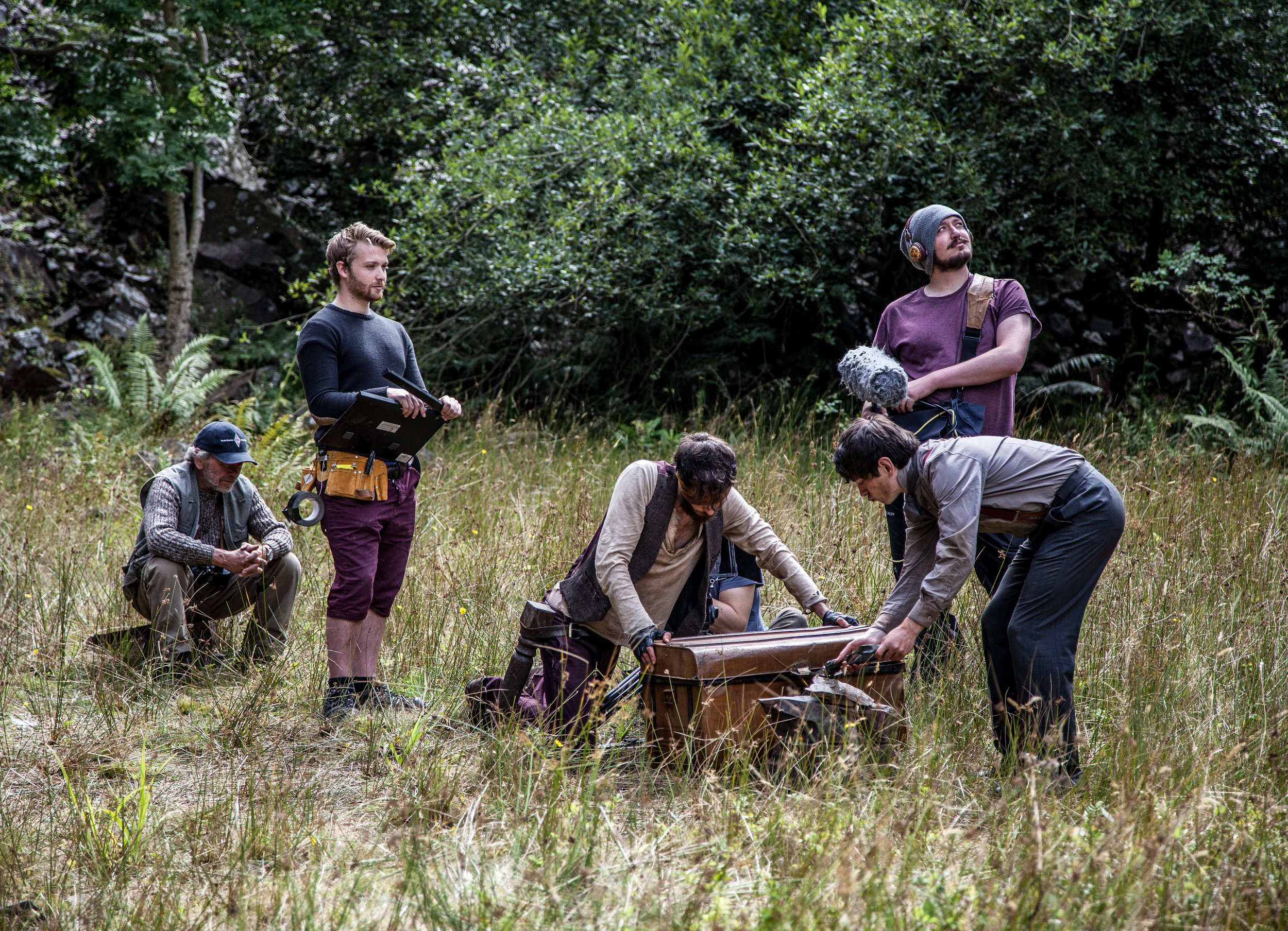 DSR - Filming the treasure chest scene-8.jpg