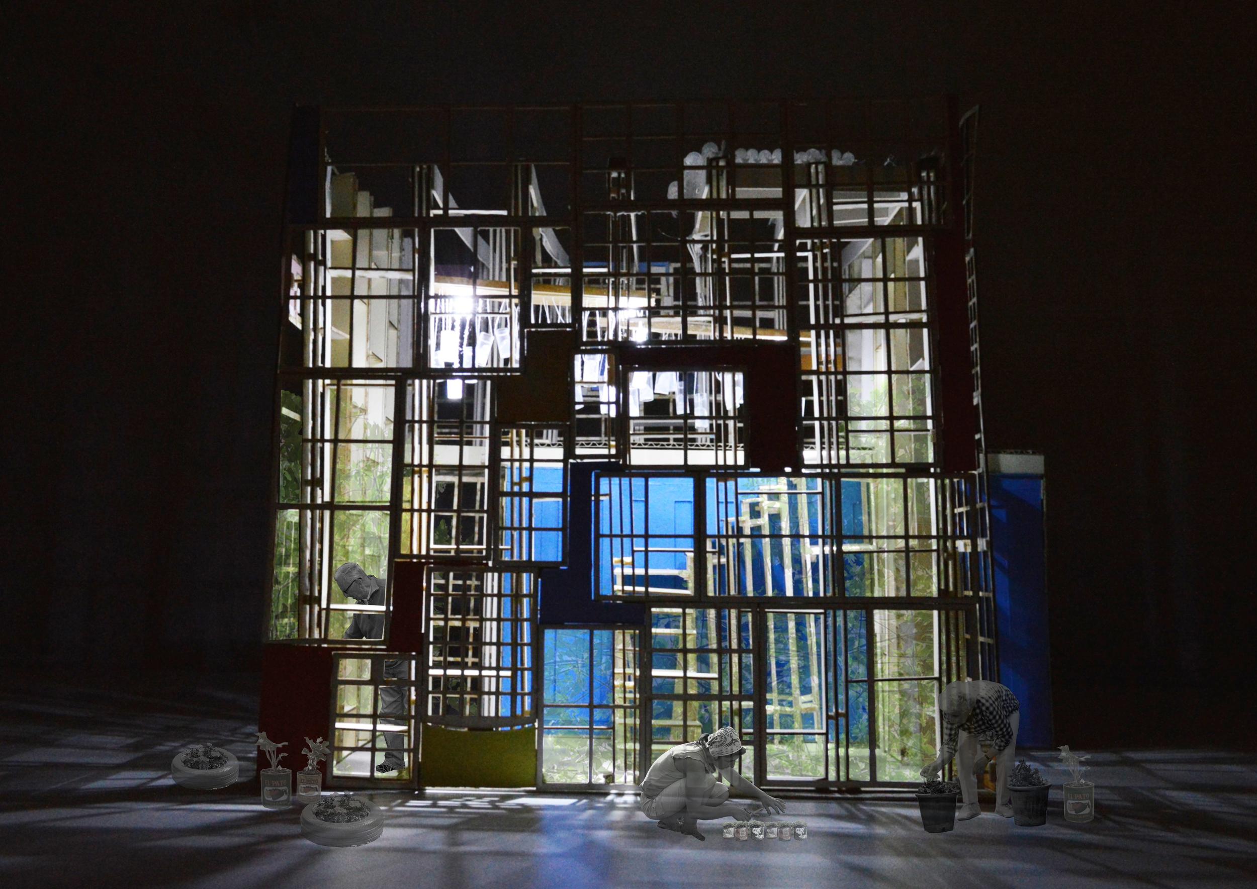 Giant glasshouse
