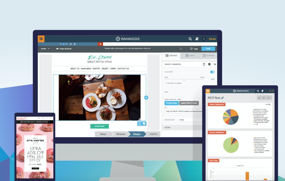 RIMANGGIS| Data-Driven Email Marketing Platform-RADICA