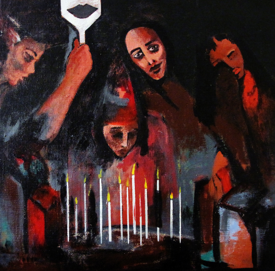 SETAREH BEHBAHANI | IRA   N   SETAREH BEHBAHANI IS FEMALE IRANIAN ARTIST, CURRENTLY LIVING IN TEHERAN. SINCE HER CHILDHOOD SHE STRUGGLED WITH STUTTERING AND FOR THAT REASON PAINTING BECAME A WAY OF EXPRESSING...     READ MORE