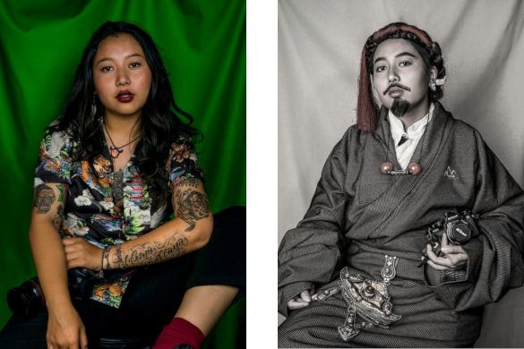 Nyema Droma - Lhasa, photographer, designer and entrepreneur  Copyright Nyema Droma
