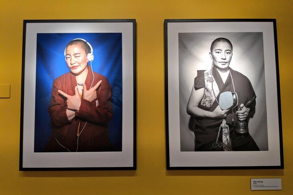Sen Chung - Yushu, nun  Copyright Nyema Droma