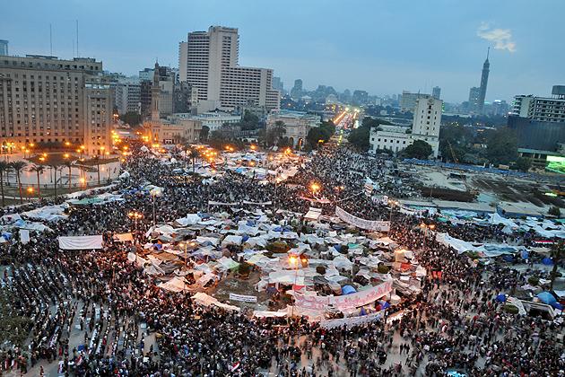 Tahrir Square, 2011.