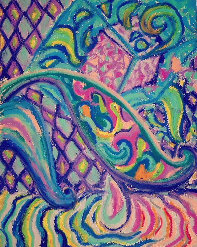 Painting the 4th dimension  #painting #drawing #pastel  #idea #inspiration #research #art #fineart #artwork #contemporaryart #kunst #dreams #memories #memes #studio #oilpainting #deepdream #collaboration #collage #canvas #oilpastel #glasgowartist
