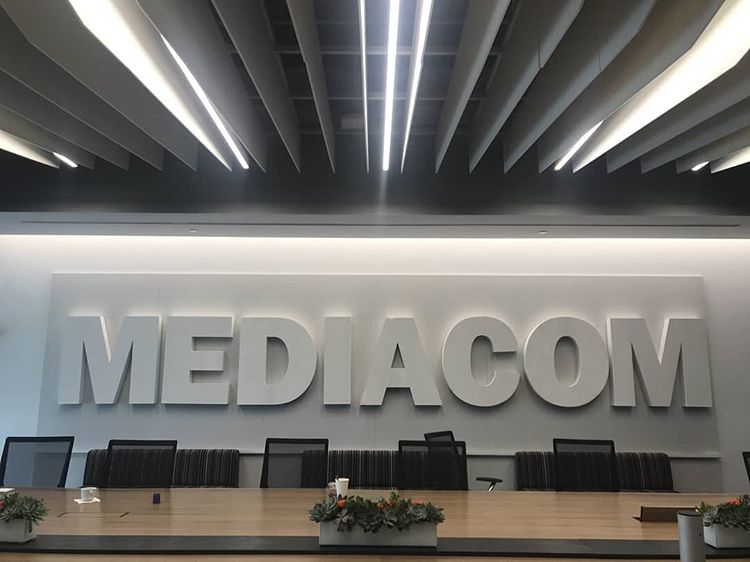 Unique Visuals - Fabrication - 3D Lettering Mediacom