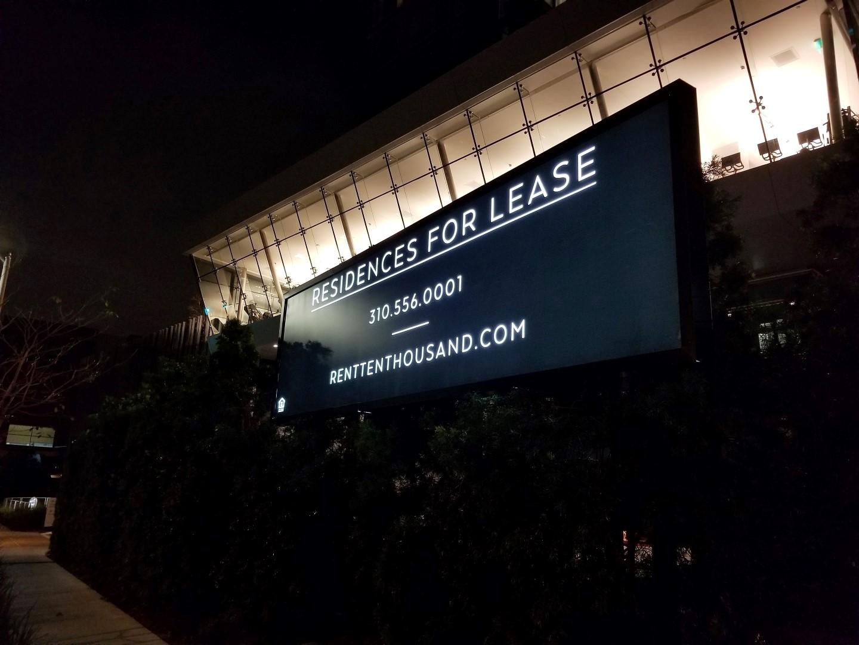 Lit Billboard