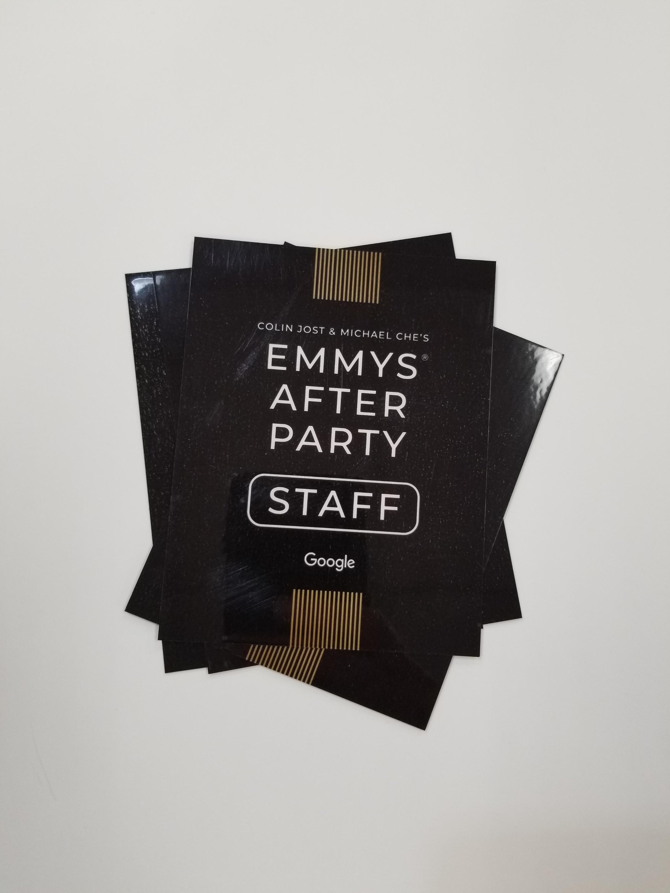 Laminated Badges