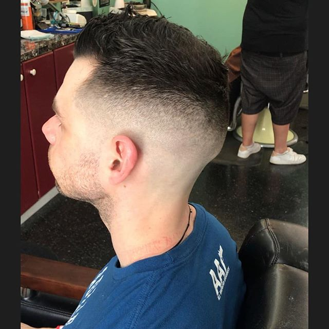 Taper by our barber @ihatenicolascage. He will be working 10-530 tomorrow come in and get freshened up for your weekend plans.  #chromebarbershop #603barber #concordnhbarber #concordnh  #barbershoplife #menshairstyle #barberhub #hairstyling #Barber #barbershop #barberlife #barbering #barbergang #hair #haircut #hairstyle #barbersinctv #barbershopconnect #barbers #barbernation #barberworld #barberlove #barbergame #showcasebarbers #nastybarbers