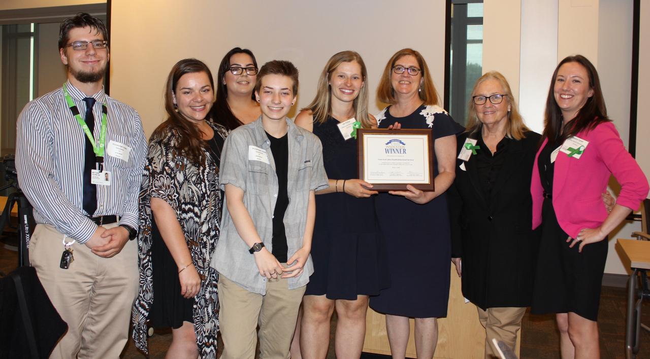 2018 CBH INNovation award winner - lahey health behavioral services