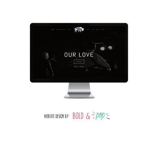 Bold & Pop : Daniel Nickels Music Branding & Website Design