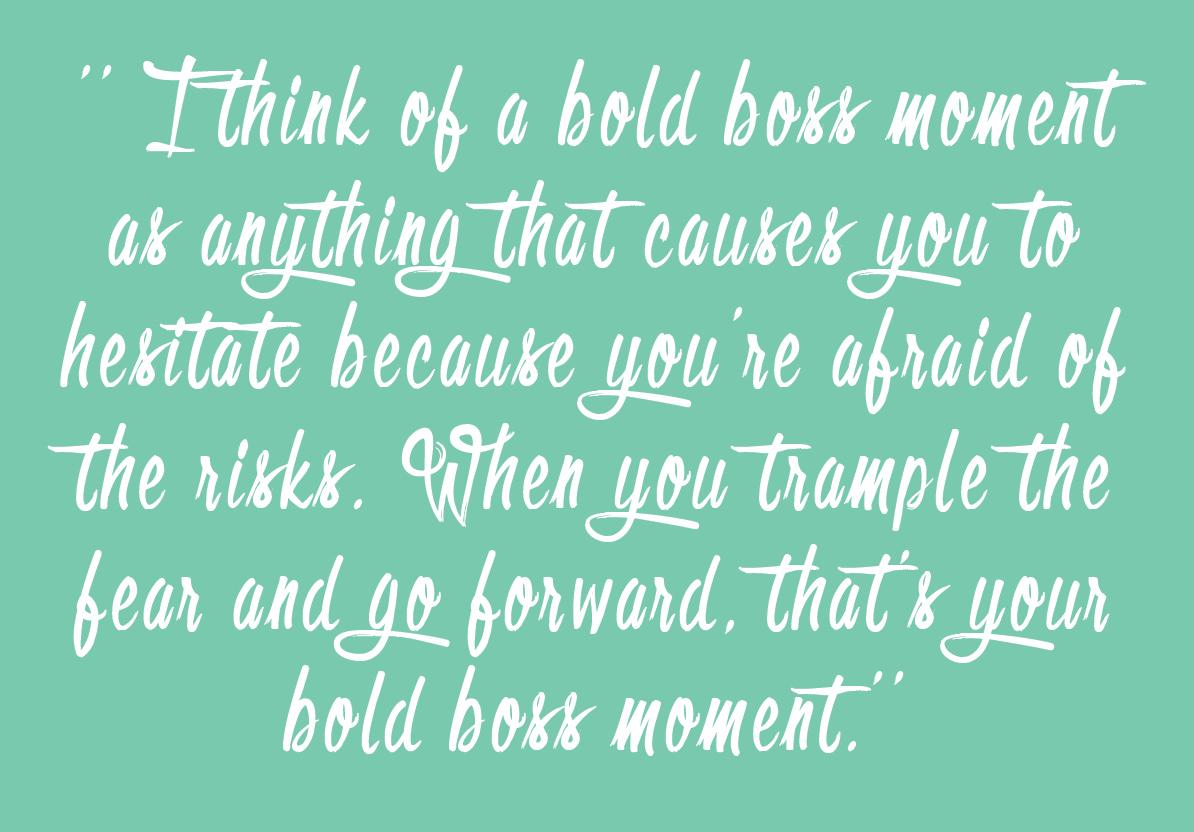 Bold & Pop : #BoldBossTribe :: Samantha Williams