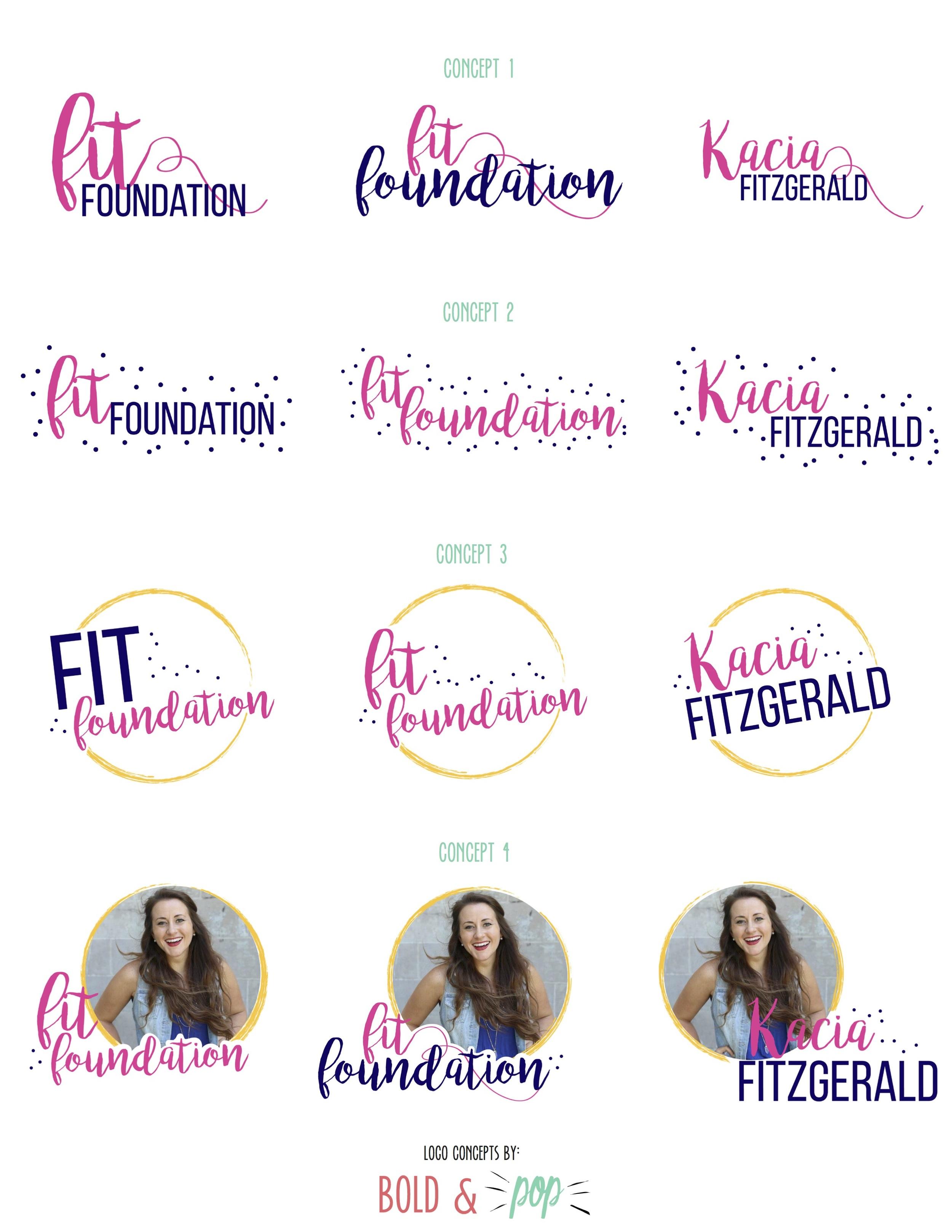 Bold & Pop : Fit Foundation Branding & Website Design