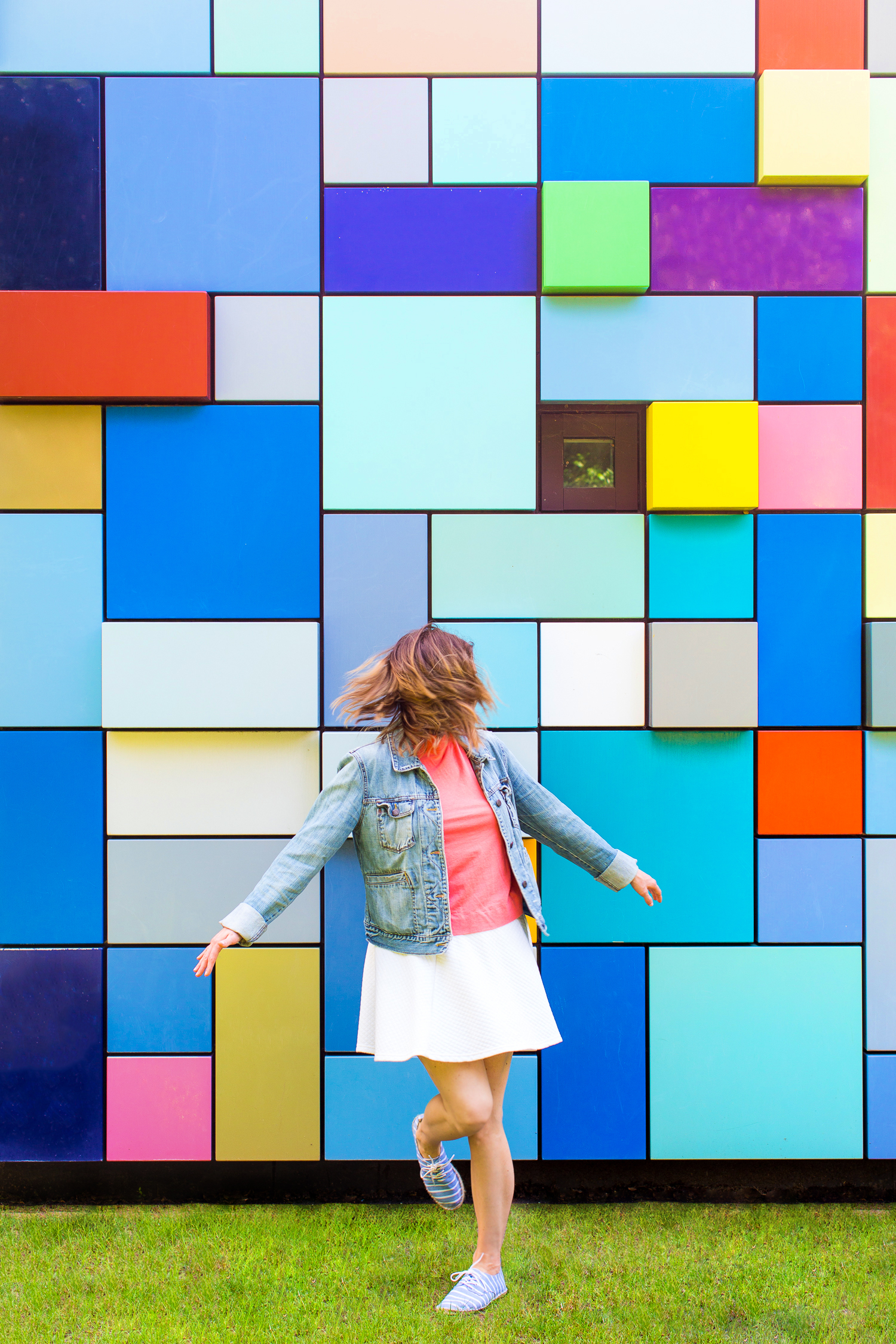 Colorblock Wall