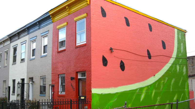 The Watermelon Wall
