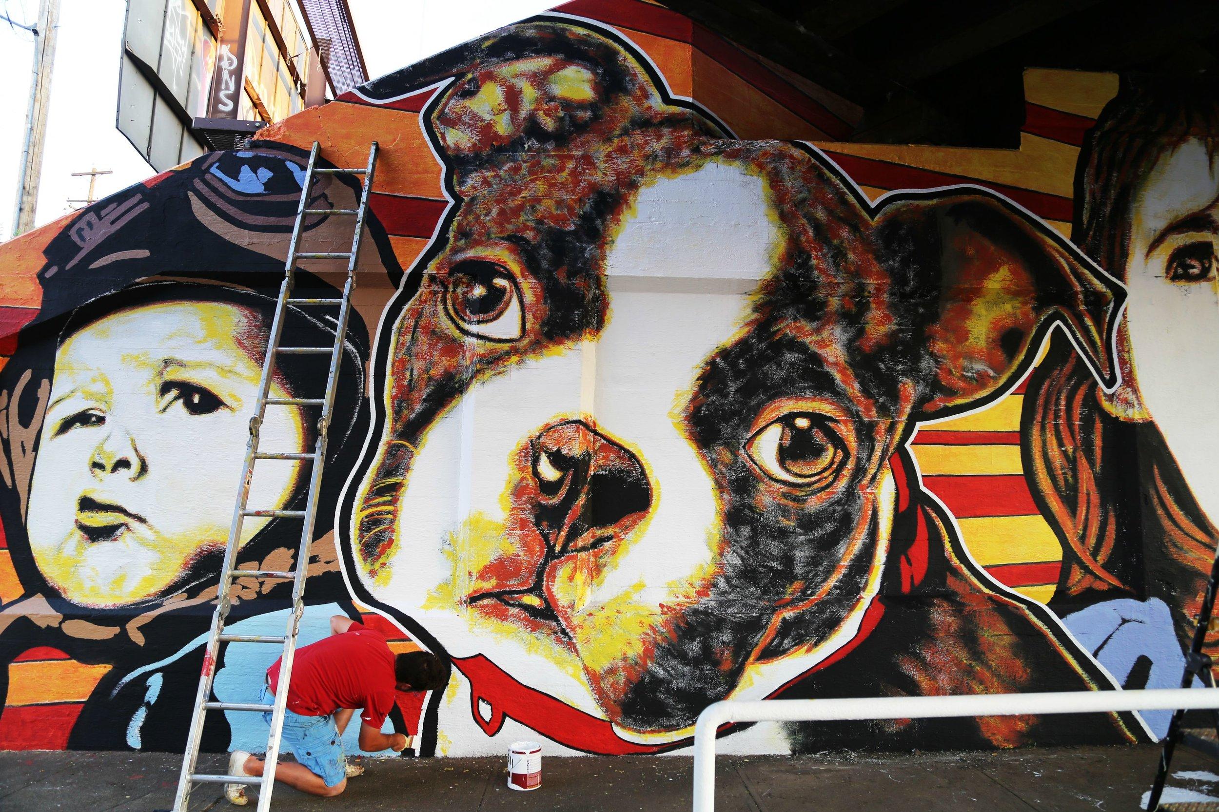 Maple Street Mural