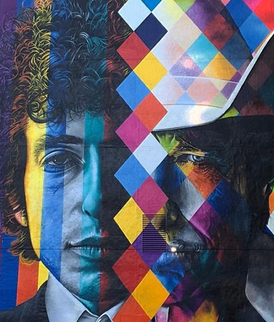 Bob Dylan Wall