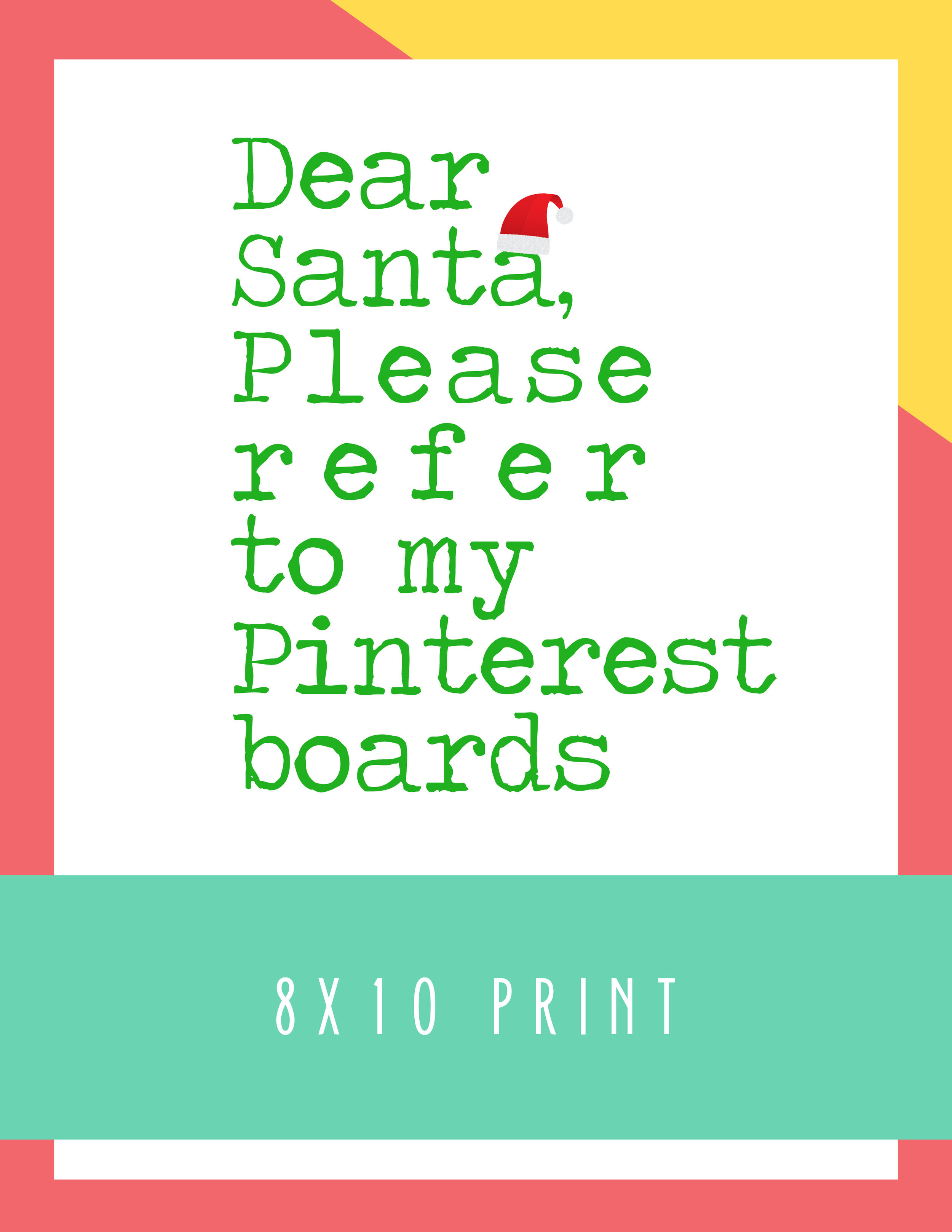 Bold&Pop_Dear_Santa_8x10_print