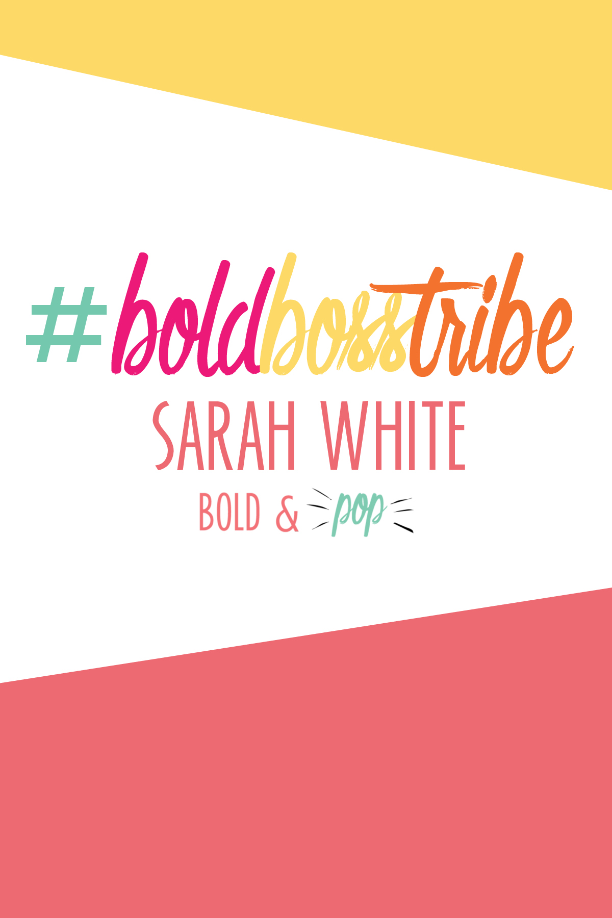 #BoldBossTribe :: Interview with Founder of I Do List Sarah White